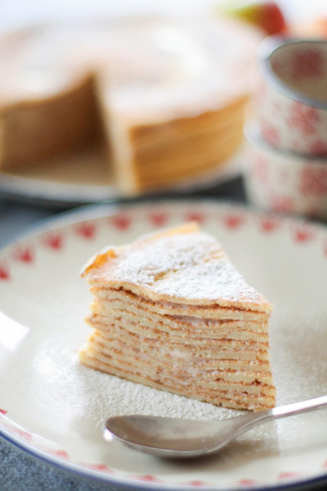 Gâteau crêpes'