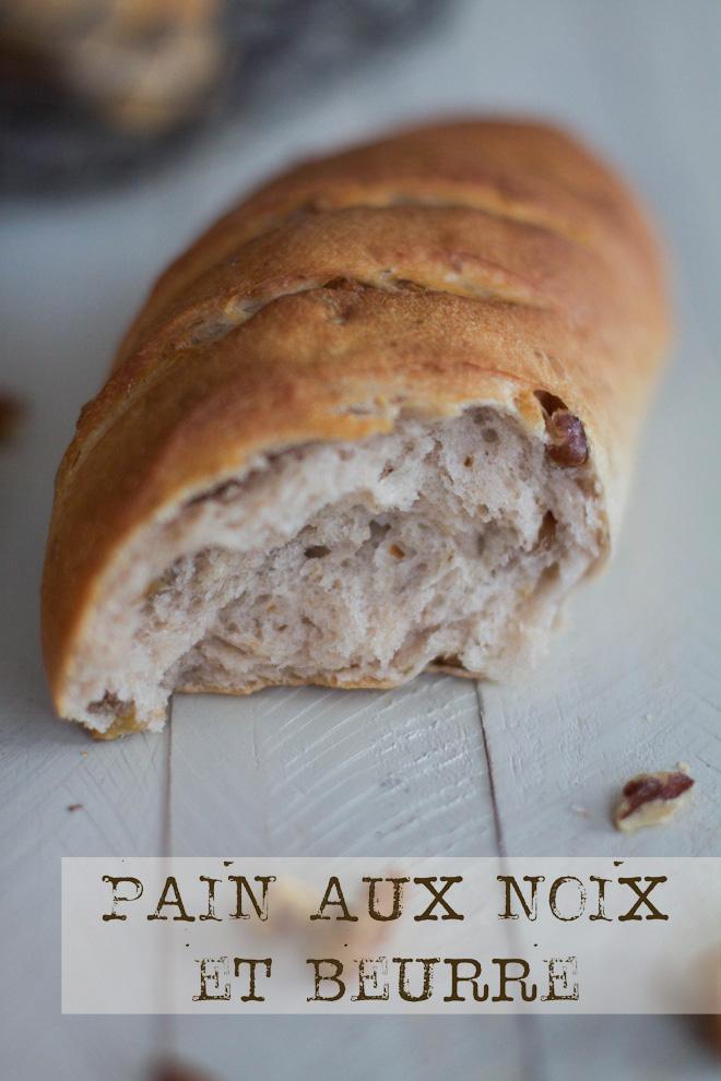 pain noix beurre