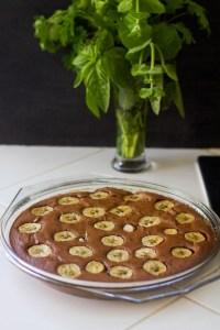 gâteau chocobanane