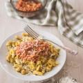 spaetzle Bolognese végétarienne