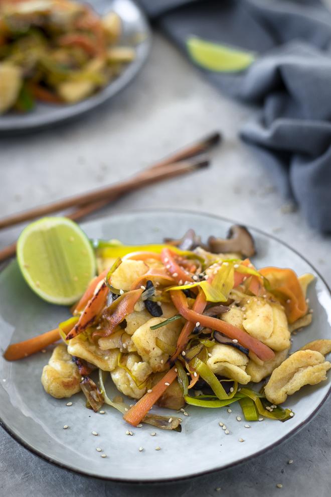 knpefle wok végétarien