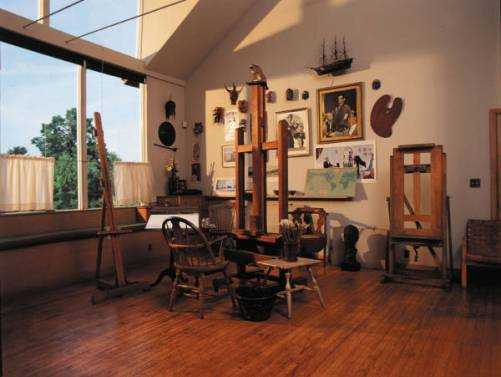 Norman Rockwell's Stockbridge Studio