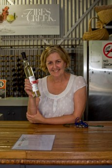 Elly Walker Fires Creek Winery