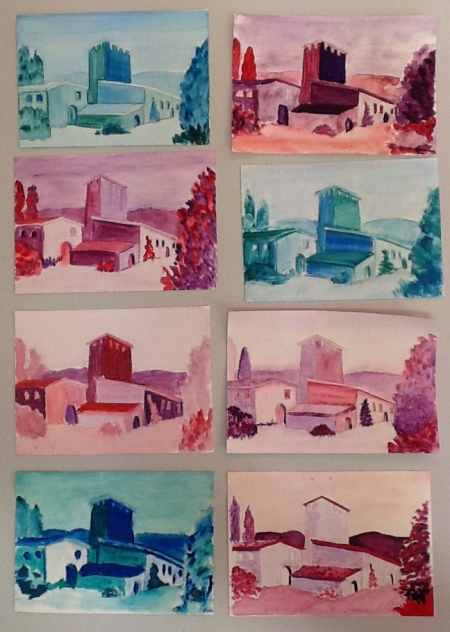Limited Palette Paintings