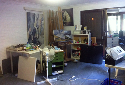 Artist's Studio - Working studio
