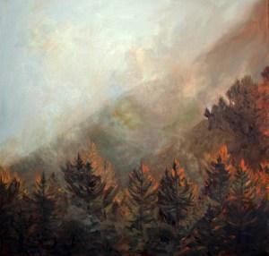 Unveiling III - Oil Painting Kadira Jennings