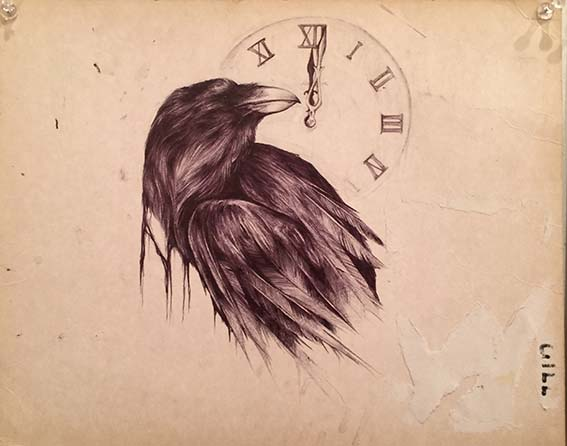 Art Express, Raven by Emily Sheard
