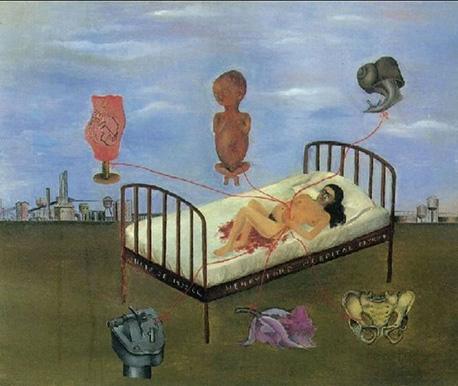 Henry-Ford-Hospital,frida Kahlo