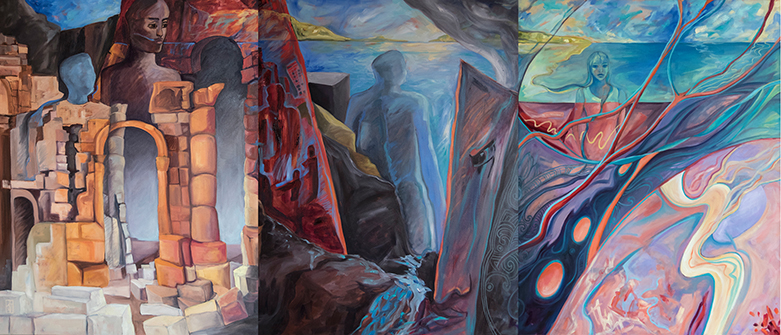 New Horizons,Refugee Triptych,Kadira_Jennings