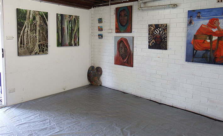 Studio 1 Paintings,Student_exhibition,spring_fever,welcome