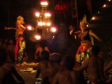 The kecak dance, continued.