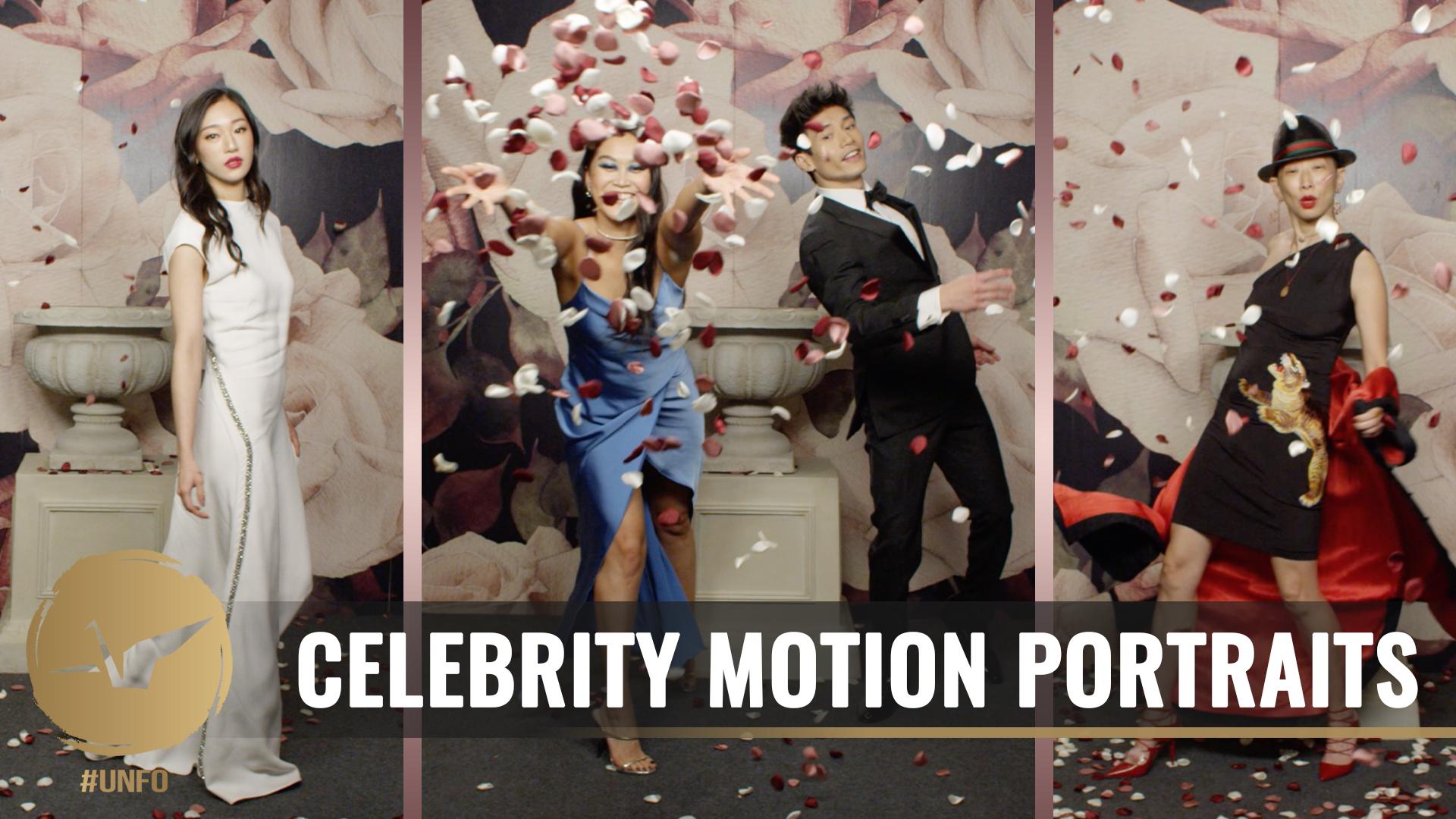 2019 Celebrity Motion Portraits