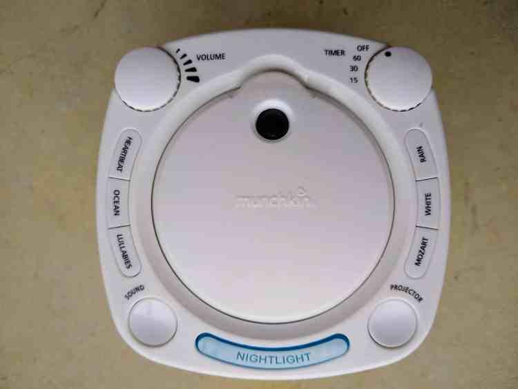 munchkin nursery sound machine for white noise