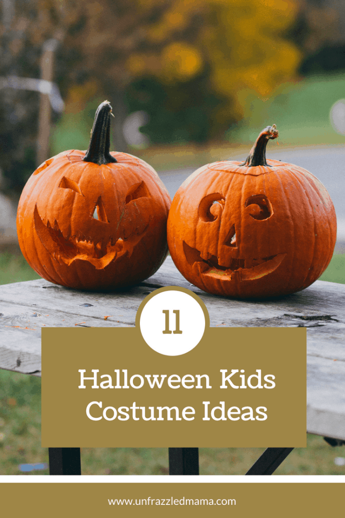 Halloween costumes ideas for kids! #unfrazzledmama #halloween #halloweencostumes #costumeideas #kidscostumeideas