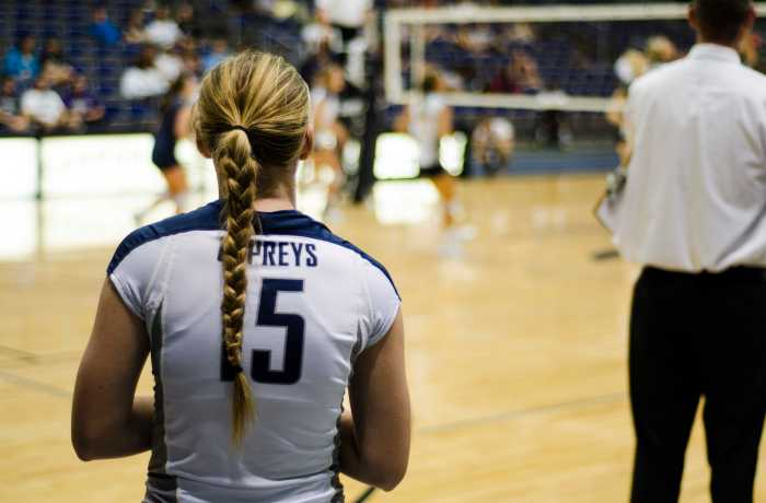 Photo Credit: Connor Spielmaker Volleyball looks forward to a new season and a new team.