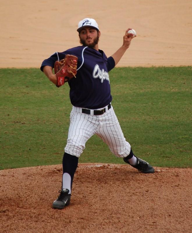 Photo Credit: Travis Gibson Staff Ace Michael Renner leads UNF starters with a 1.30 ERA.