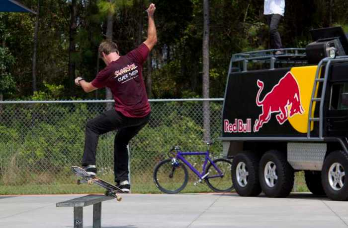Fourth annual Red Bull King of the Campus