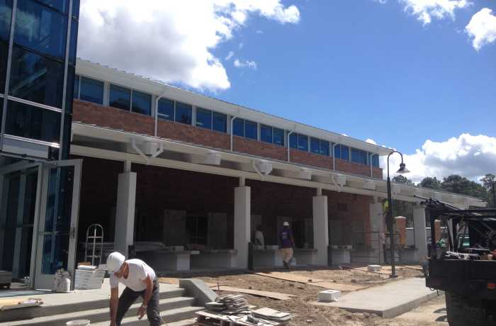 The Osprey Clubhouse will include a pool deck, gazebo, and Pita Pit. Photo by Brian Blackwell