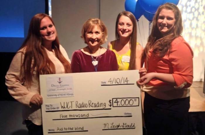 The money donated to WJCT will go to providing visually impaired listeners radios. Photo courtesy Facebook.