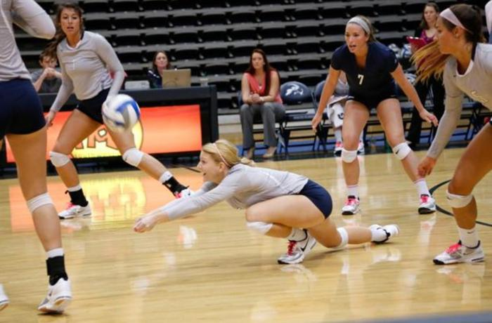Ospreys earn first Atlantic Sun win of the volleyball season against Kennesaw State