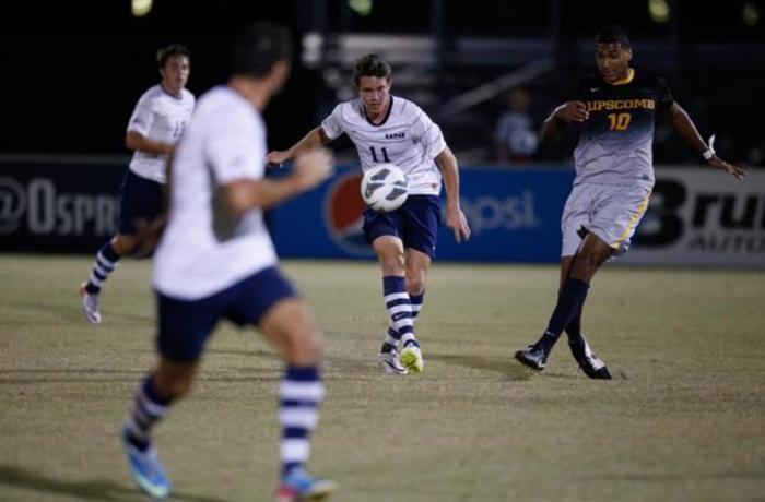 "UNF men's soccer falls short in ""90-minute battle"" against Lipscomb"