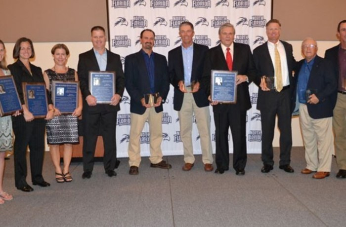 UNF 2015 Athletics Hall of Fame Inductions