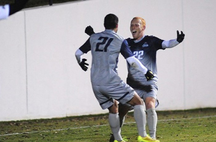 UNF men's soccer rolls on to semifinals after tearing through Spartans