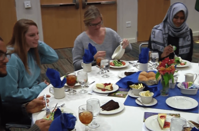 UNF holds Oxfam Hunger Banquet to raise awareness for world hunger