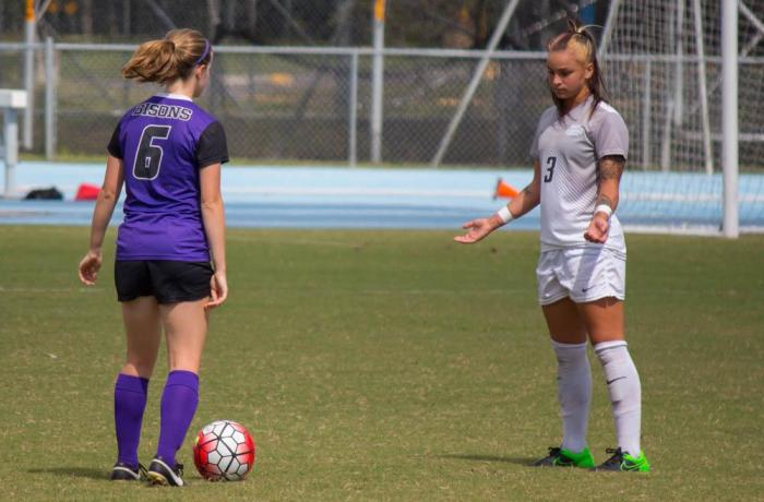 Osprey women's soccer is fourth in the Atlantic Sun conference.  Photo by Michael Herrera