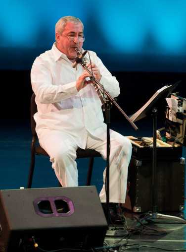 Norik Manoukian is a talented woodwind artist. Courtesy of Yuval Ron Ensemble