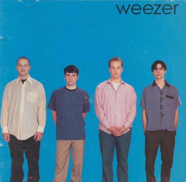 Weezer circa 1994. Photo courtesy Creative Commons.
