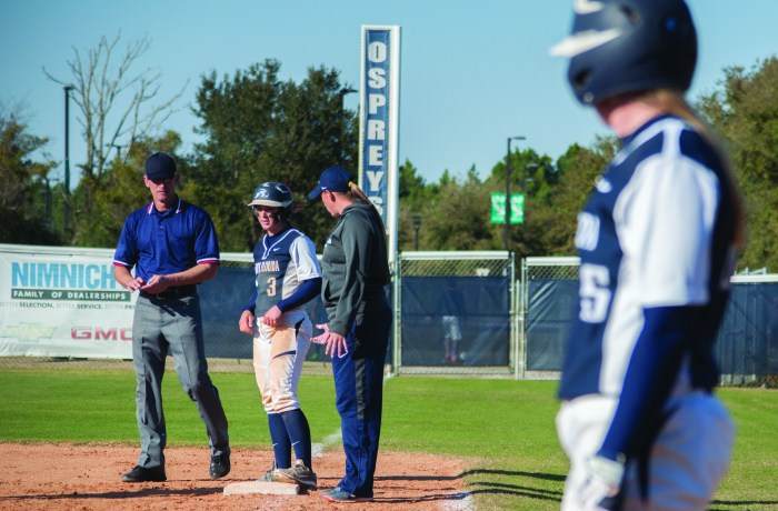 The Ospreys led the No. 19 ranked Volunteers until the final inning.  Photo by Morgan Purvis