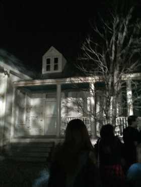 Texas Chainsaw Massacre haunted house. Photo by Pierce Turner
