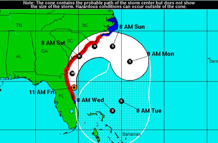 Graphic Courtesy National Hurricane Center