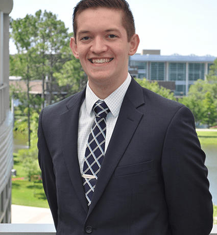 Cole Poppell. Photo from Student Government website