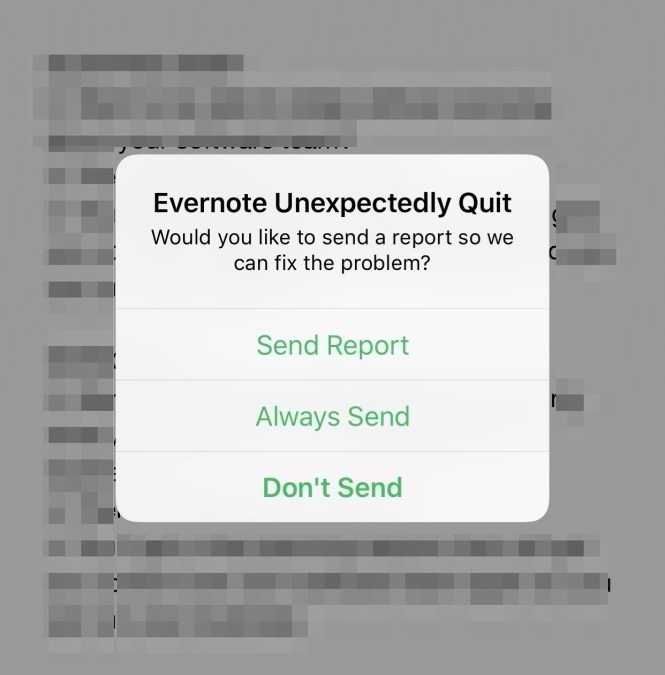 Evernote Jumped the Shark?