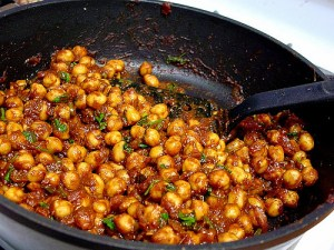 Indian Sour Chickpeas (Channa)