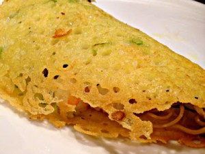 Crispy Vietnamese Rice-Flour Crepes with Nuoc Cham