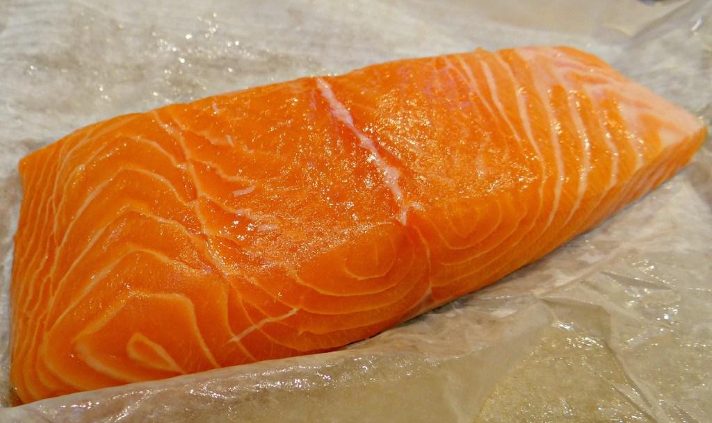 sake-don salmon