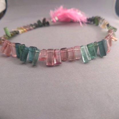 Tourmaline Stick Beads