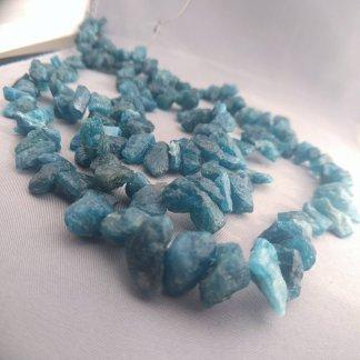 Rough Apatite Beads