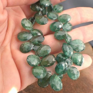 Apatite Briolettes Beads