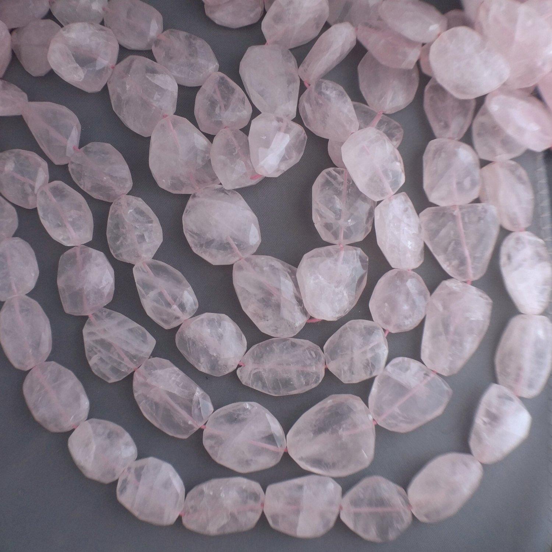 mm faceted nugget gemstone beads--7.5--1 strand3 strands 14-16 20-28 natural quartz x