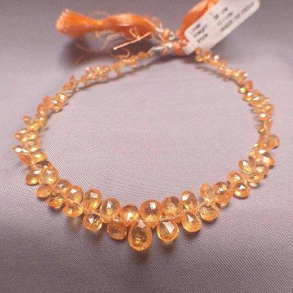 Quality Spessartite Garnet Beads