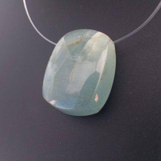 Aquamarine Pendant Bead