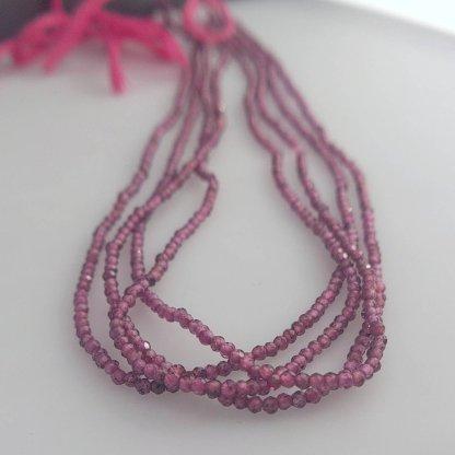 Tiny Garnet Beads