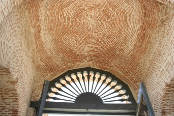 Arco de Jardines de Palacio Detalle