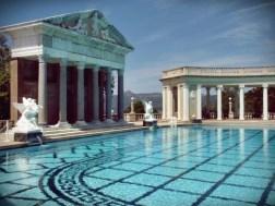 Neptune Pool Roman Pillars