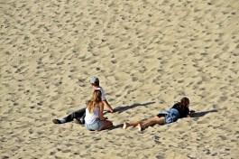 The powdered sugar sand of Malibu's Great Sand Dune!