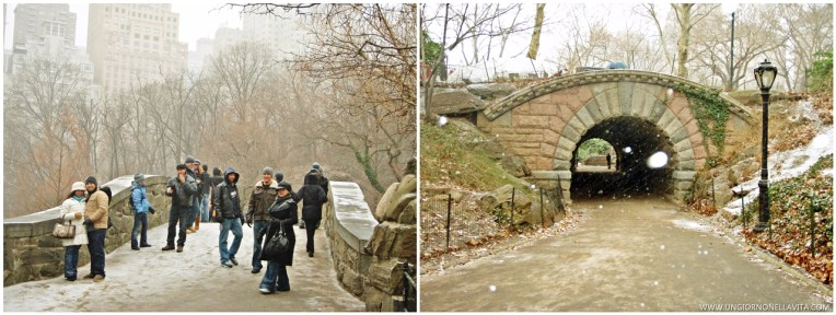 110th Street Arch in Central Park